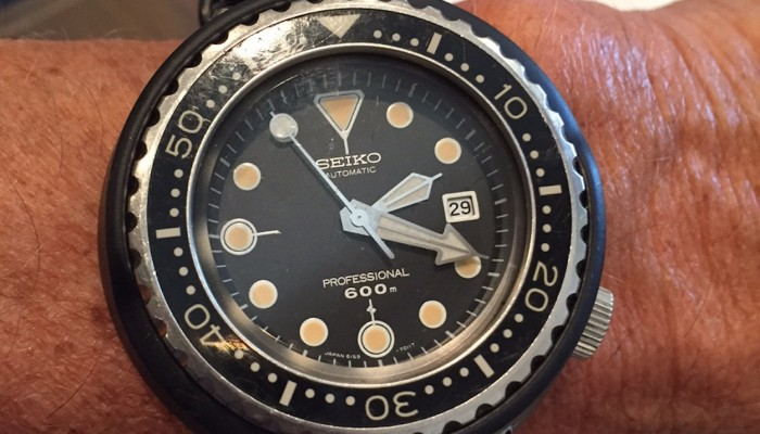 #TBT Extra: Seiko 6159 Tuna original owner