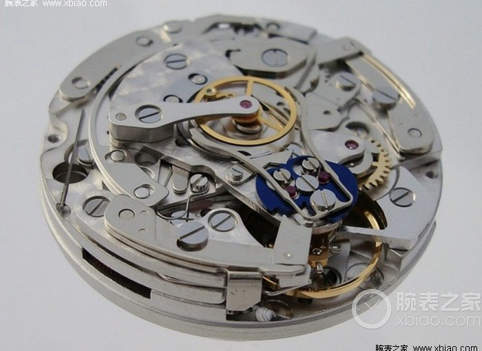 ETA 7750 double chronograph movement