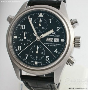 IWC IOP Pilots Doppelchronograph Chronograph