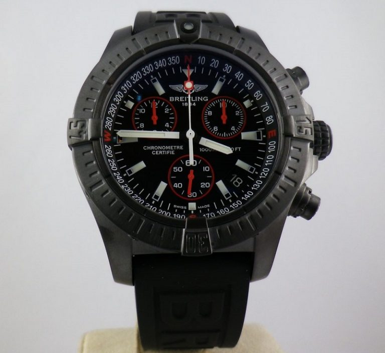 replica-Breitling-Avenger-Seawolf-watch-front-view
