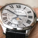 Cartier Drive De Cartier Moon Phases & Drive De Cartier Extra-Flat Watches Hands-On Hands-On