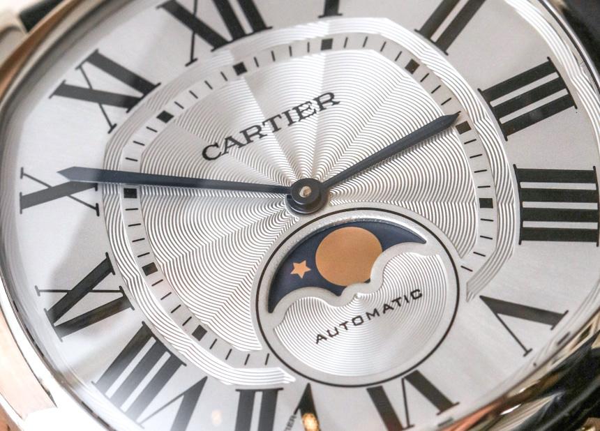 Cartier Drive De Cartier Watch 04281 Replica Moon Phases & Drive De Cartier Extra-Flat Watches Hands-On Hands-On