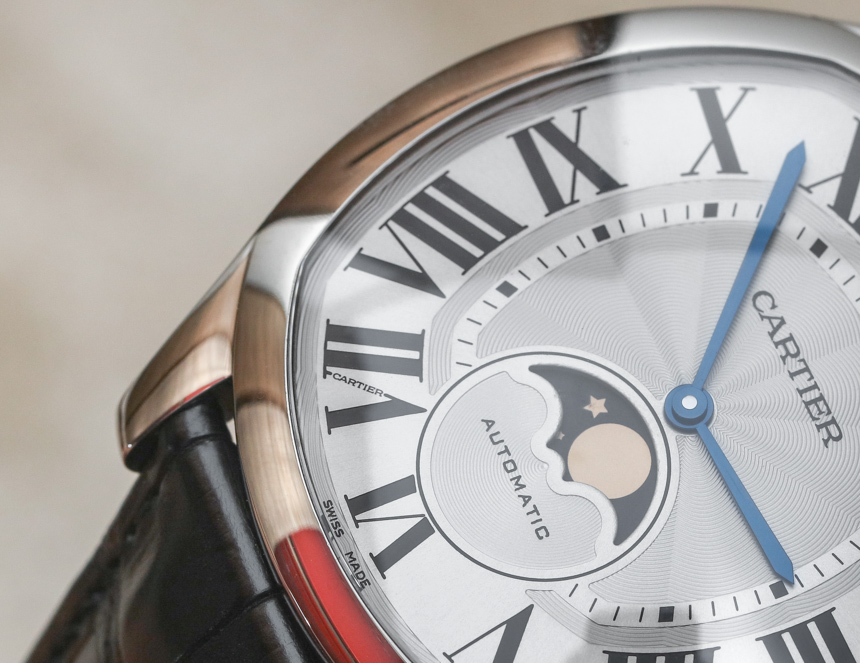 Cartier Drive De Cartier Watches Instagram Replica Moon Phases & Drive De Cartier Extra-Flat Watches Hands-On Hands-On