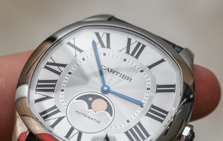 Cartier Drive De Cartier Watches Rose Gold Replica Moon Phases & Drive De Cartier Extra-Flat Watches Hands-On Hands-On