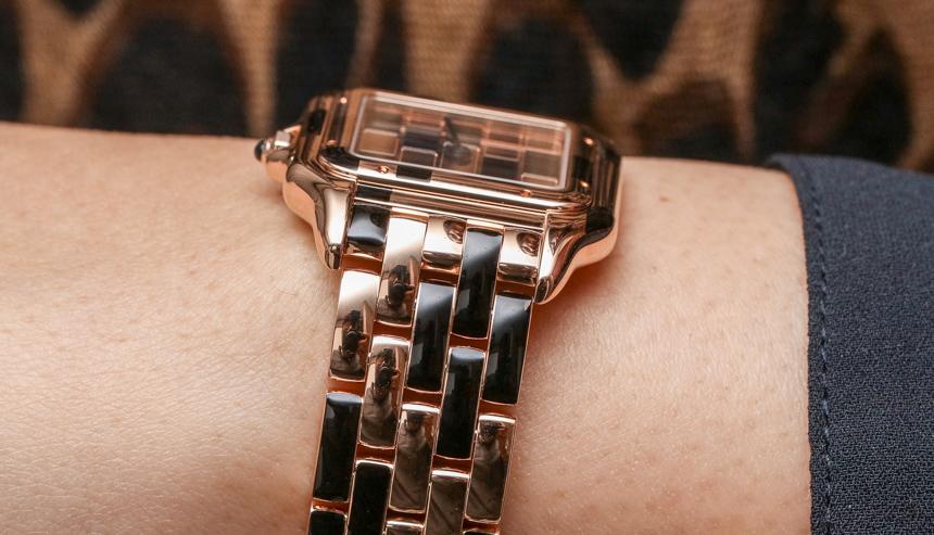 Cartier Panthère De Cartier Watches Quartz Movement Replica Watches Hands-On Hands-On