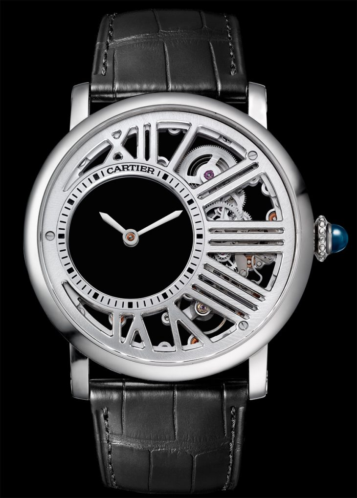 Cartier Rotonde De Cartier Mysterious Hour Skeleton Watch Watch Releases