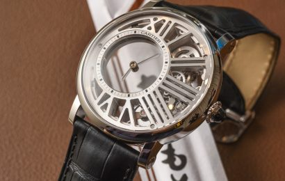 Cartier Rotonde De Cartier Mysterious Hour Skeleton Watch Hands-On Hands-On