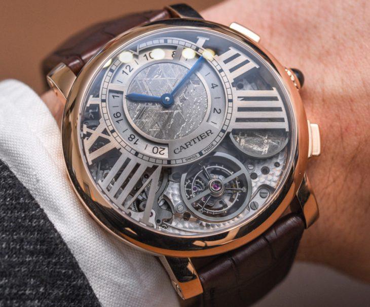 Cartier Rotonde De Cartier Watches Dubai Replica Earth And Moon Watch Hands-On Hands-On