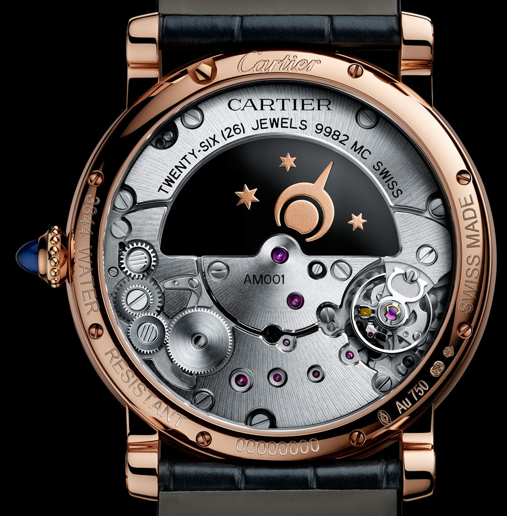 Cartier Rotonde De Cartier Mysterious Watches For 2018 Watch Releases