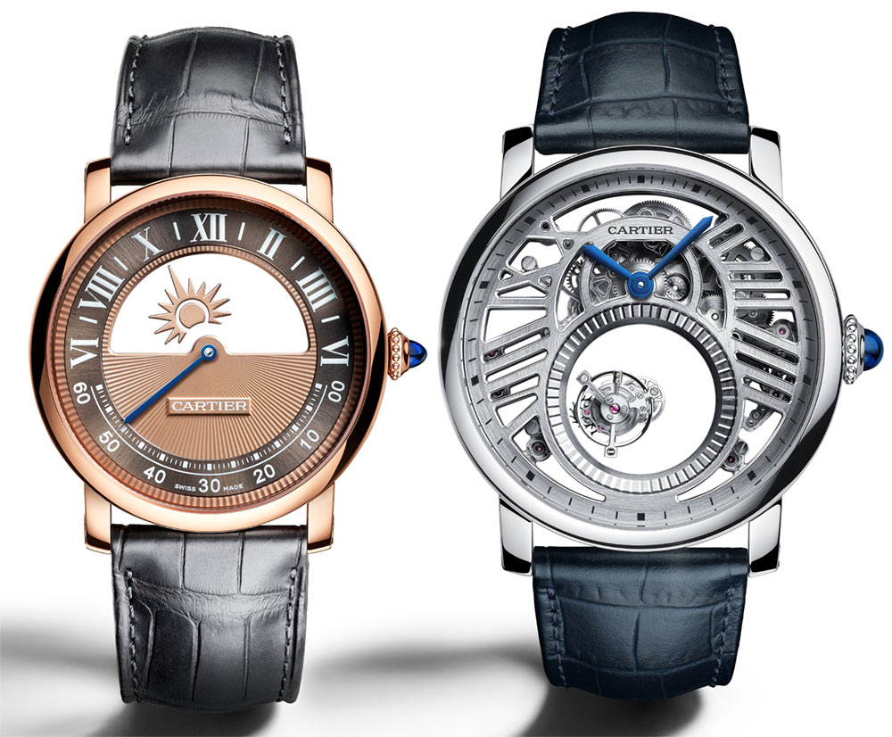 Cartier Rotonde De Cartier Watches Ladies Replica Mysterious Watches For 2018 Watch Releases