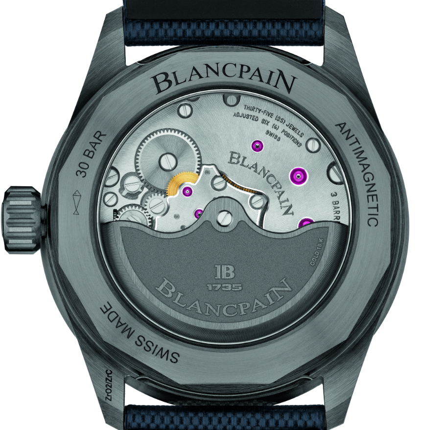 Blancpain Fifty Fathoms Bathyscaphe Watch In Gray Plasma Ceramic Watch Releases