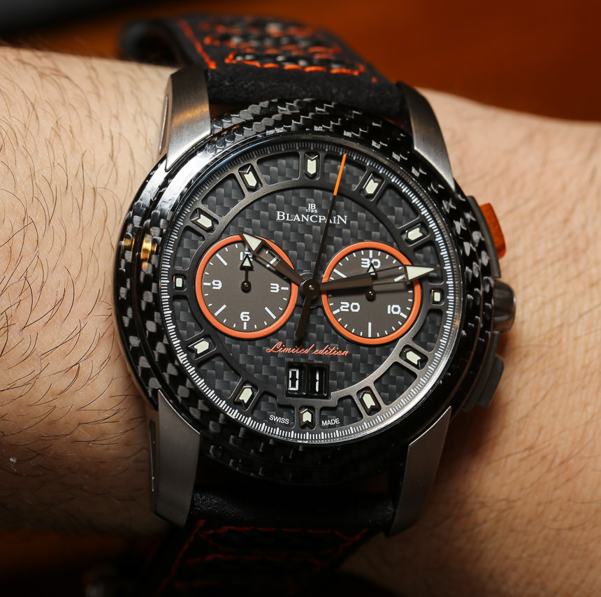 Blancpain L-Evolution R Chronographe Flyback Grande Date Watch Hands-On Hands-On