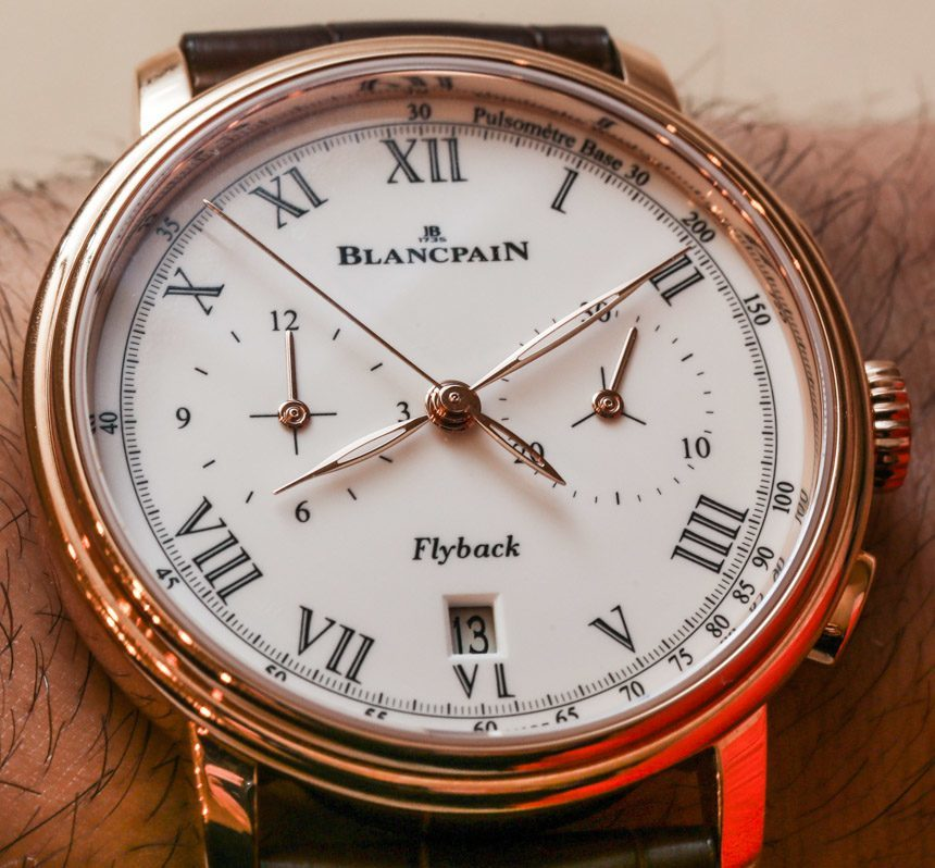 Blancpain Villeret Pulsometer Flyback Chronograph Watch Hands-On Hands-On
