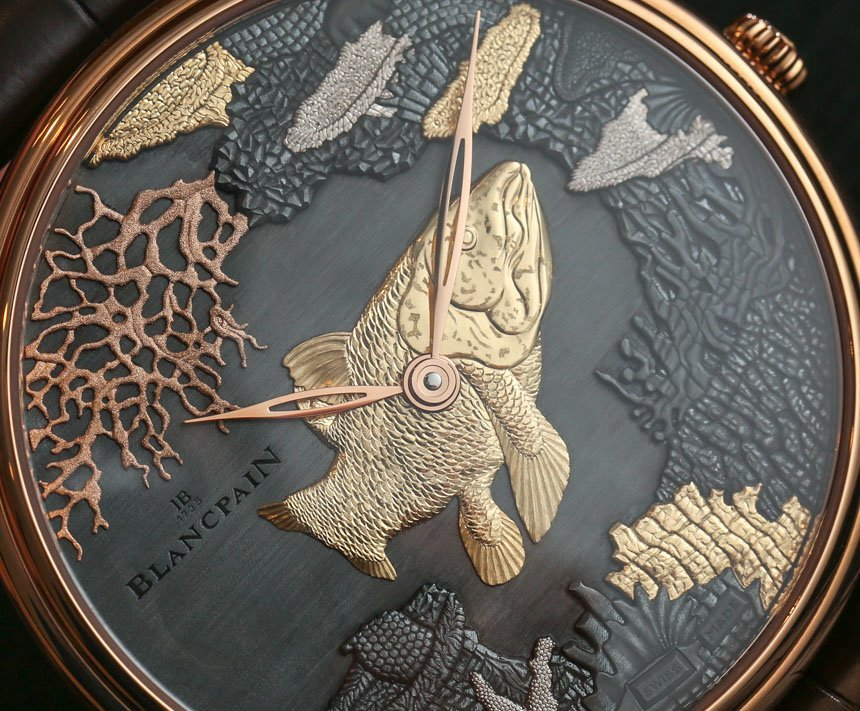 Blancpain Villeret Shakudo Ganesh & Coelacanth Engraved Dial Watches Hands-On Hands-On